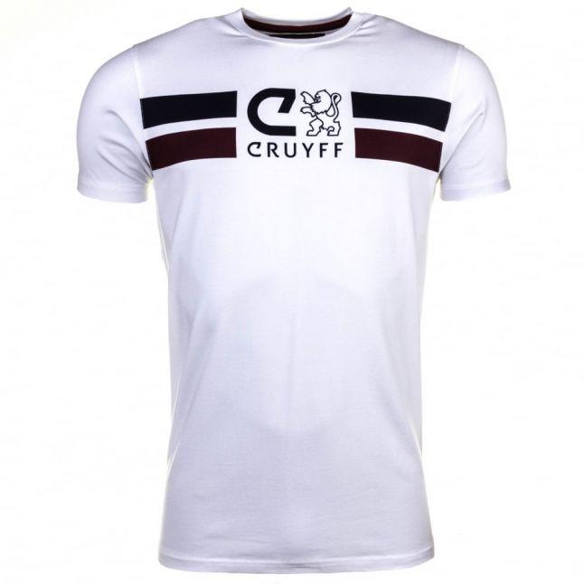 Mens White Turner S/s Tee Shirt