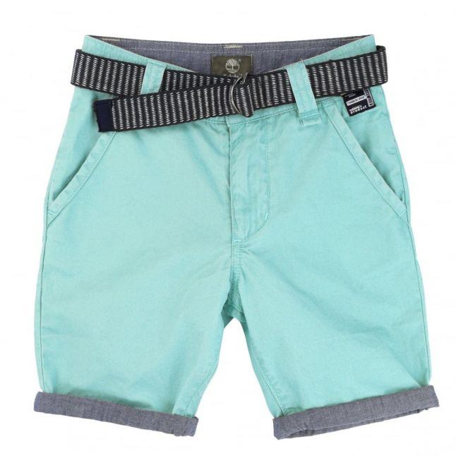 Boys Blue Shorts & Belt
