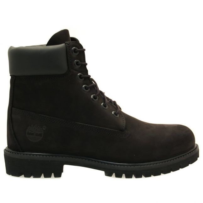 Mens Black 6 Inch Premium Boots