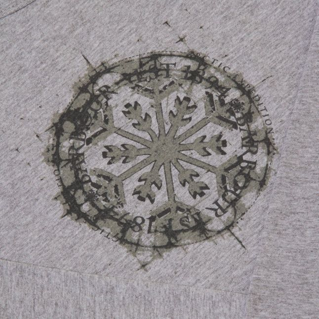 Girls Grey Marl Evie L/s Tee Shirt