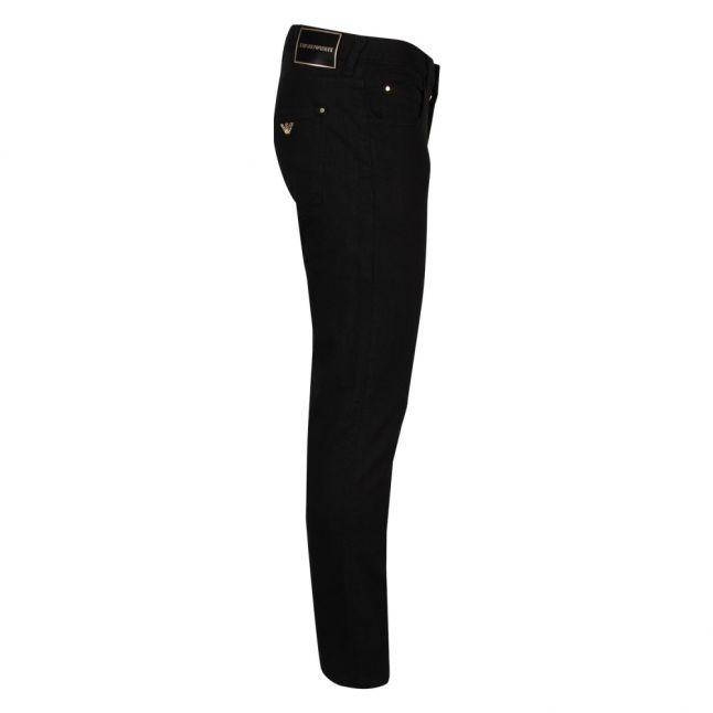 Mens Black J10 Extra Slim Fit Jeans