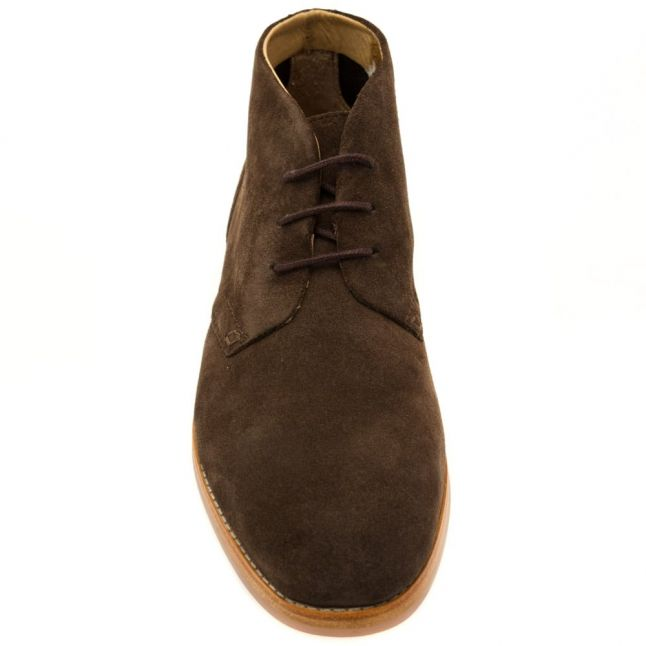 H By Hudson Mens Brown Houghton 3 Chukka Boots