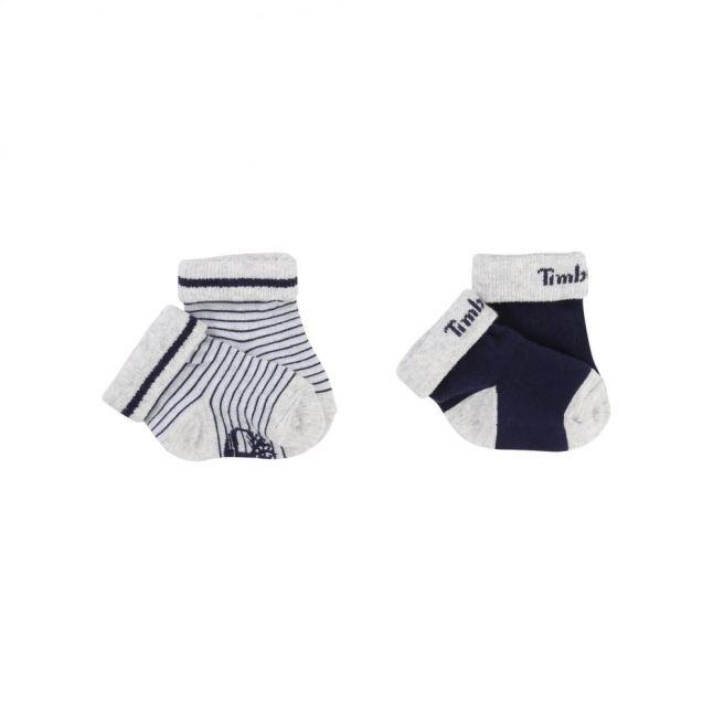 Baby Blue 2 Pack Socks (15-21)