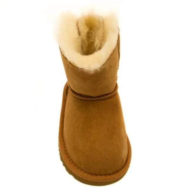Toddler Chestnut Mini Bailey Bow Boots (5-11)