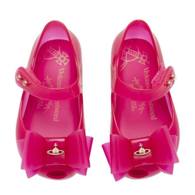 Vivienne Westwood Girls Pink Mini Ultragirl 22 Bow Shoes (4-9)