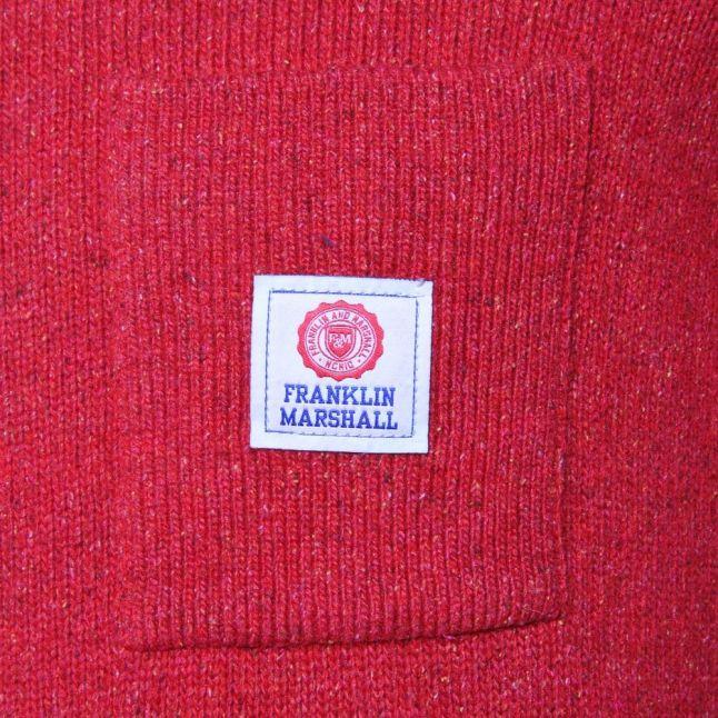 Mens Cardinal Applique Logo Crew Jumper