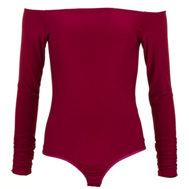 Womens Oxblood Leanne Bodysuit