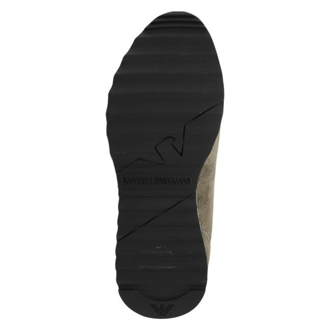 Mens Ivy Branded Perforated Trainers