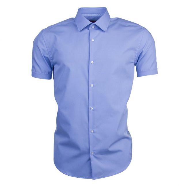 Mens Pastel Blue C-Joeyno Slim Fit S/s shirt