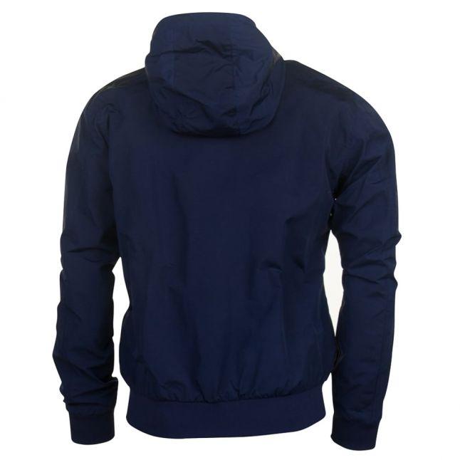 Mens Dark Midnight Tonic Hooded Brentham Jacket