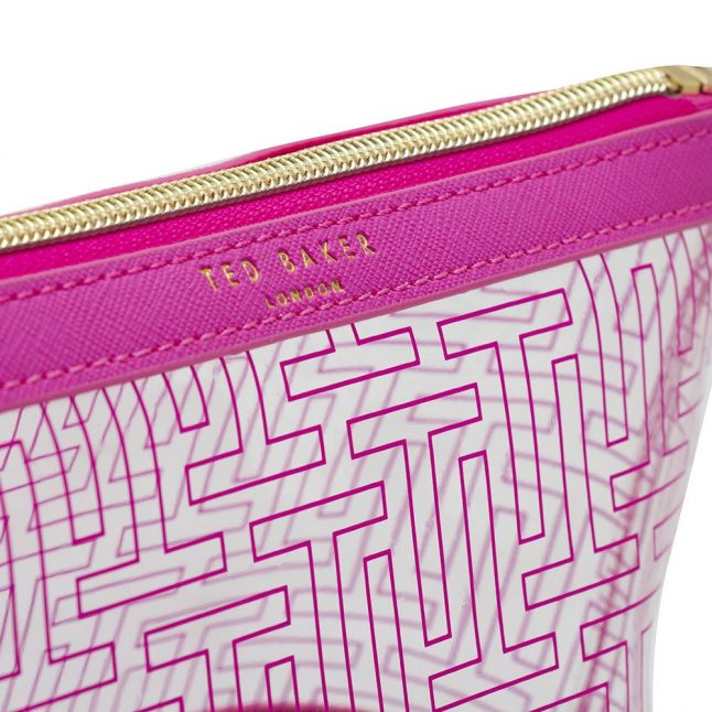 Womens Bright Pink Khloeee T Wash Bag
