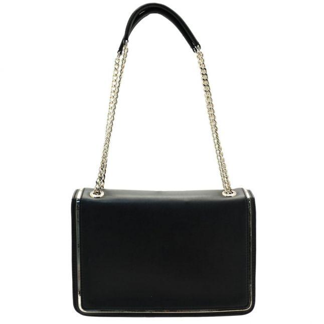 Womens Black Chain Shoulder Bag
