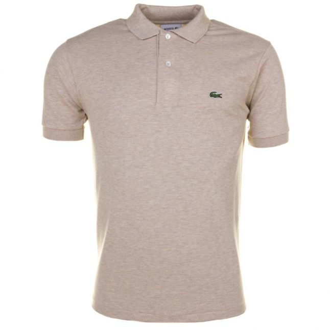 Mens Oats Classic Fit Marl S/s Polo Shirt