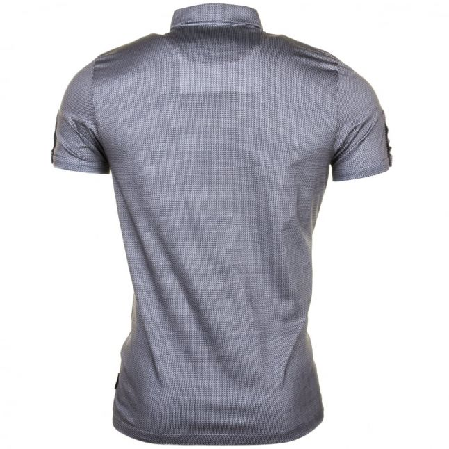 Mens Navy Angelo Printed S/s Polo Shirt