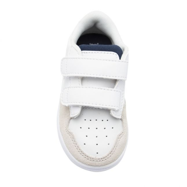 Infant White/Red Masters Cup Trainers (3-9)