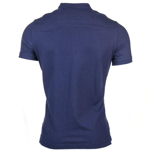 Mens Navy T-Heal S/s Polo Shirt