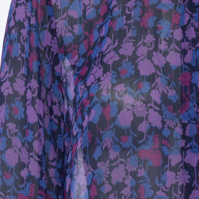 Womens Dazzling Blue Bethany Crinkle Blouse