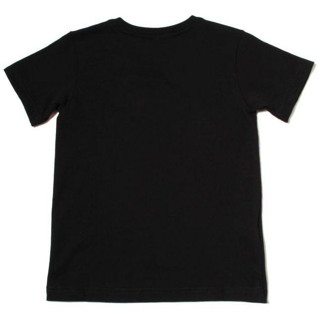 Boys Black Classic Crew S/s Tee Shirt (8yr+)
