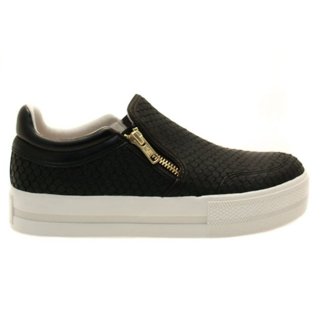 Womens Black Jordy Slip On Trainers