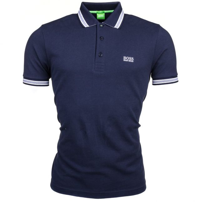 Athleisure Mens Navy Paddy S/s Polo Shirt