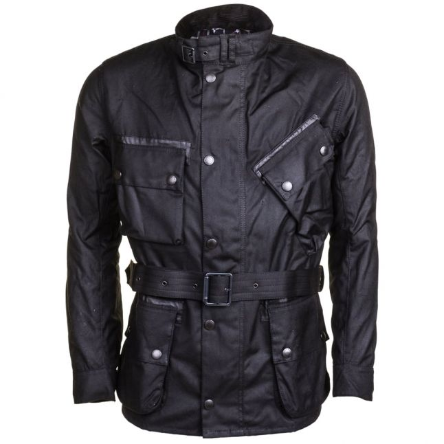 Steve McQueen™ Collection Mens Black A7 V2 Waxed Jacket