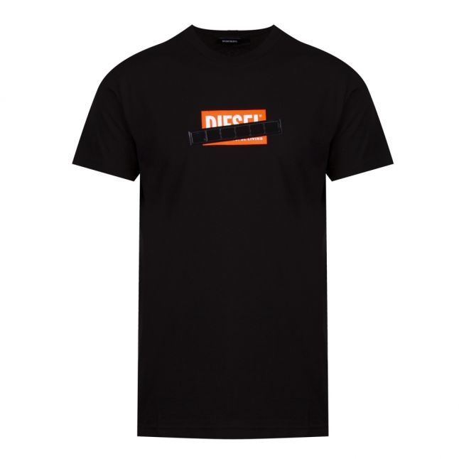 Mens Black T-Diego-S7 S/s T Shirt
