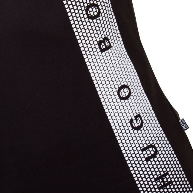 Boss Mens Black Slim-fit UV S/s Tee Shirt