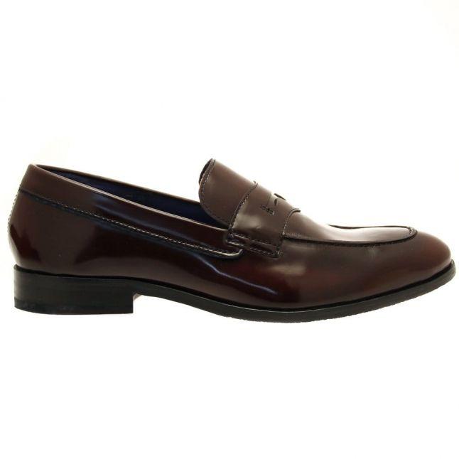Mens Dark Red Zephire Loafers