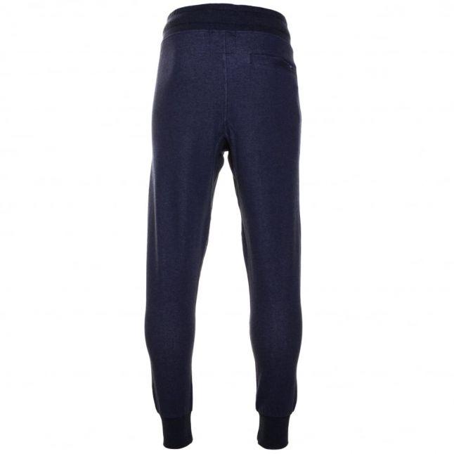 Mens Sartho Blue Varos Slim Fit Sweat Pants
