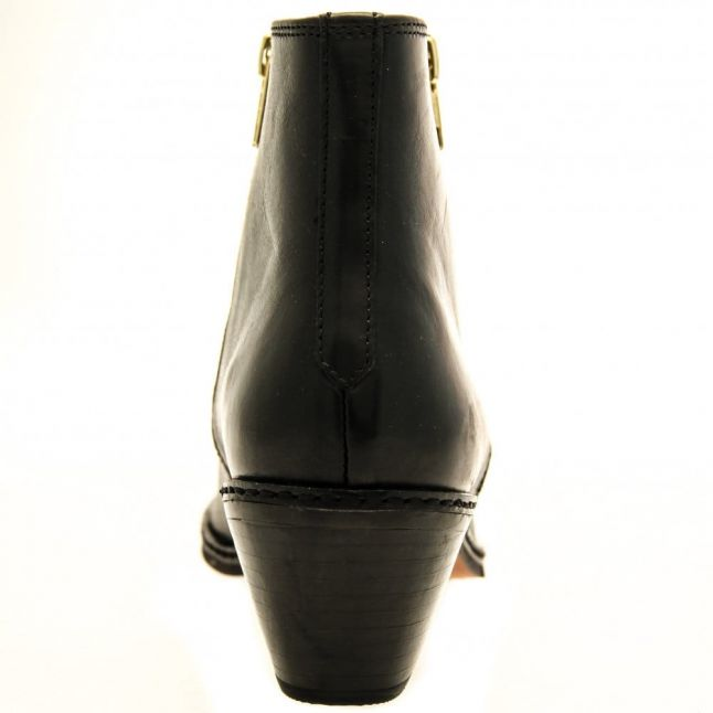 H By Hudson Womens Black Azi Boots