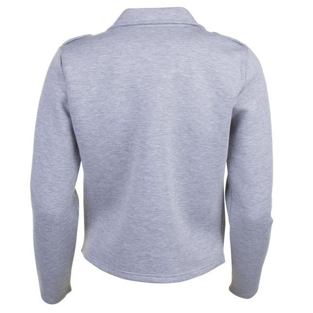 Womens Light Grey Melange Vibiker Jacket