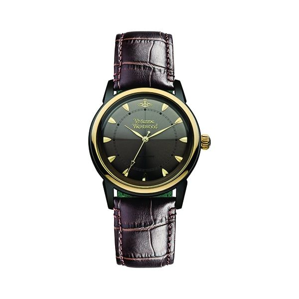 Womens Brown Grosvenor II Watch