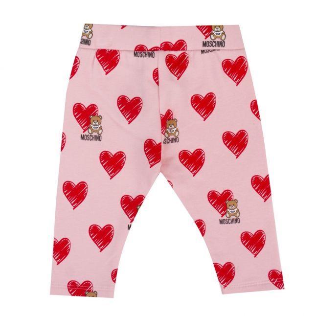 Baby Rose Toy Heart Print Leggings