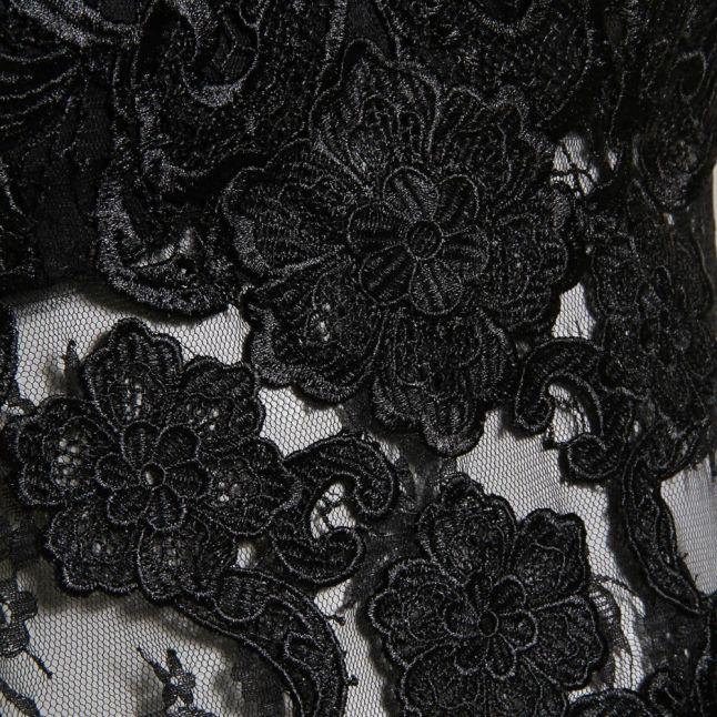 Womens Black Perla Dress