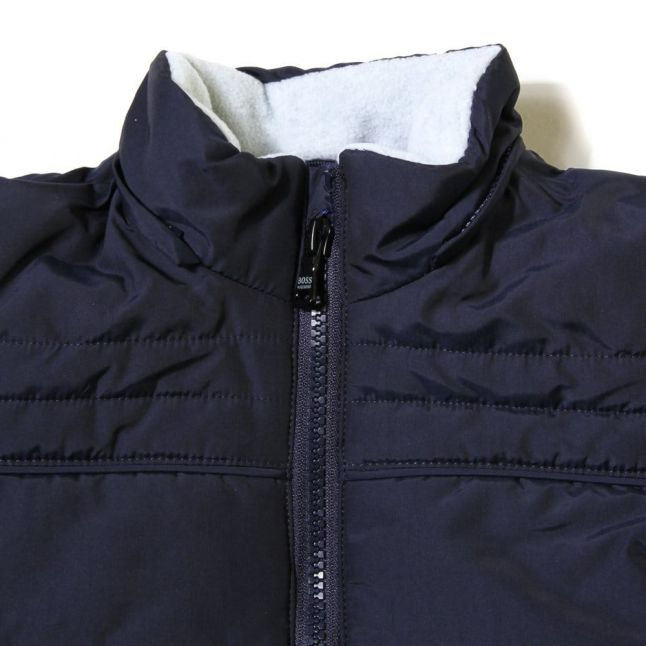 Baby Blue Branded Puffer Jacket