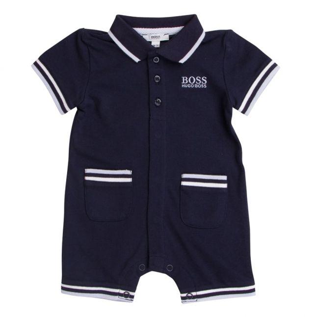Boss Baby Boys Navy Romper