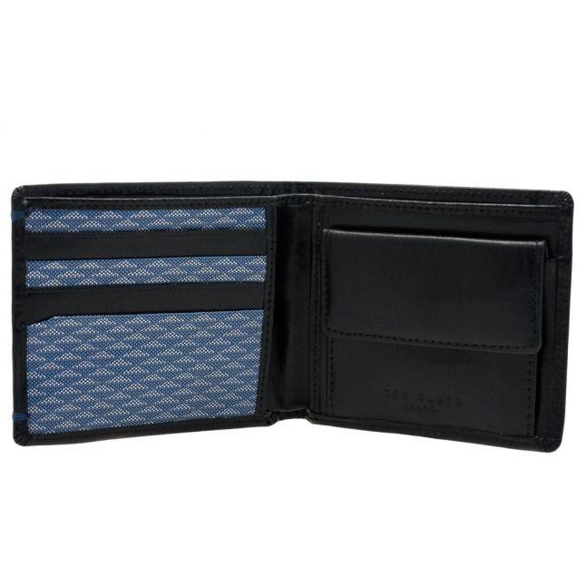Mens Black Maximus Leather Wallet