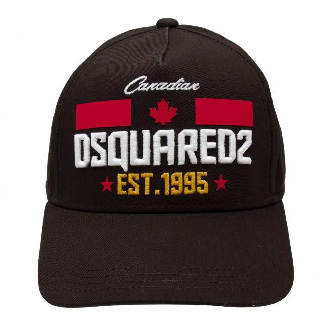 Boys Black Branded Cap