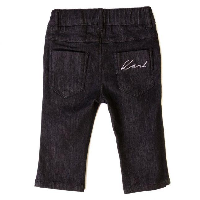 Baby Black Denim Wash Jeans