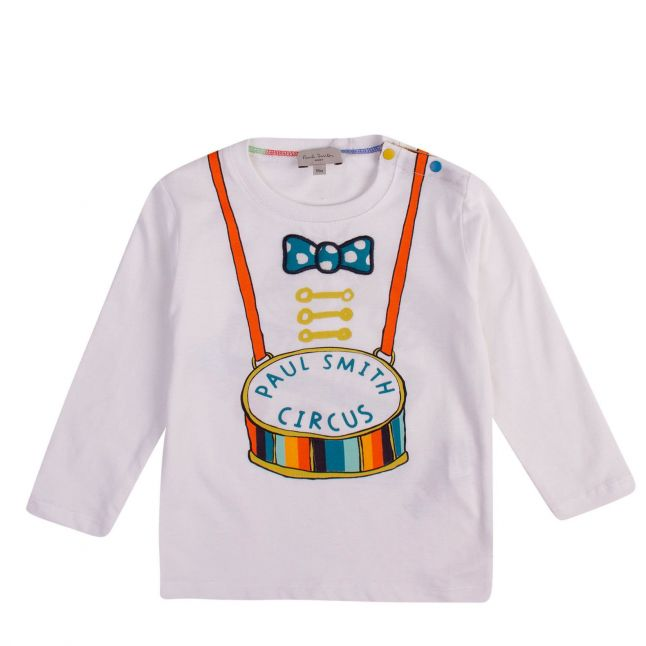 Baby White Babou L/s T Shirt