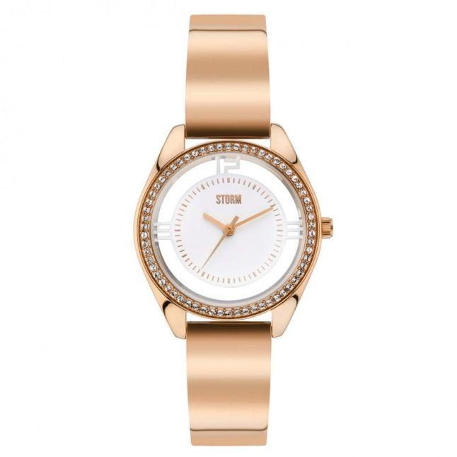 Womens Rose Gold Mini Pizaz Watch