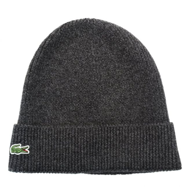 Mens Grey Knitted Hat