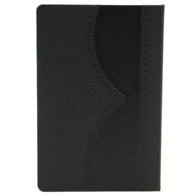 Black Brogue A5 Medium Lined Notebook