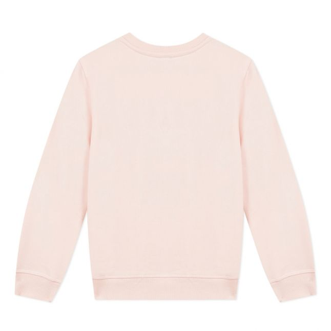 Junior Pale Pink Tiger Sweat Top