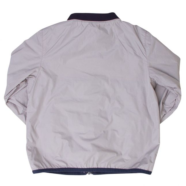Boys Blue & Grey Branded Reversible Jacket