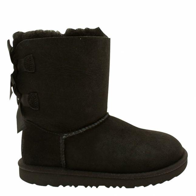Kids Black Bailey Bow II Boots (12-3)