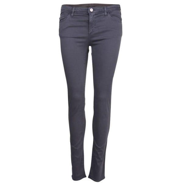 Womens Grey J28 Skinny Fit Jeans