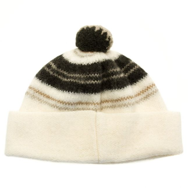 Heritage Womens Ecru Cloudy Beanie Hat