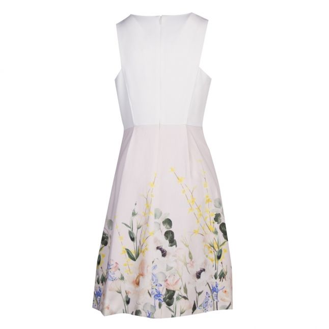 Womens Pink Kalla Elegant Full Skirt Dress