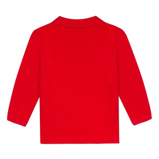 Baby Winter Red Viateur Zebra L/s Polo Shirt